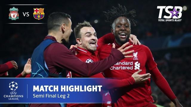 Berita video highlights semifinal leg kedua Liga Champions 2018-2019 antara Liverpool melawan Barcelona yang berakhir dengan skor 4-0 di Anfield, Selasa (7/5/2019).
