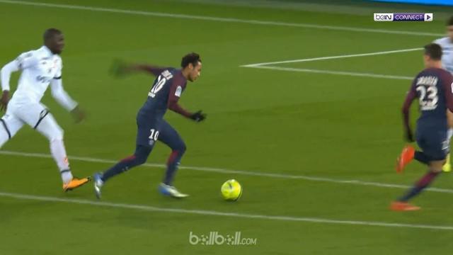 Neymar mempesona ketika ia menorehkan empat gol kala PSG menghantam Dijon 8-0, Rabu (17/1), untuk mengantar pasukan Unai Emery ung...