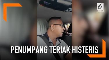 Karena rute yang diambil pengemudi taksi online berbeda, seorang penumpang wanita di Singapura berteriak histeris. Ia menuduh pengemudi telah menculiknya.