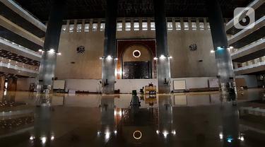 FOTO: Suasana Hari Pertama Ramadan 1441 H di Masjid Istiqlal Saat Pandemi Covid-19