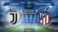 Liga Champions: Juventus vs Atletico Madrid. (Bola.com/Dody Iryawan)