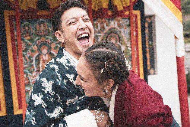 Nadien dan Dimas yang sangat bahagia/copyright The Eternity/sry