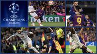 Duel-duel menarik Barcelona versus Liverpool pada leg pertama semifinal Liga Champions 2018-2019, Kamis (2/5/2019) di Camp Nou. (Foto-foto: AFP)