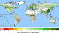 Peta Bumi kian hijau. (Nature Sustainability)