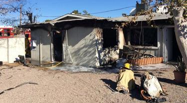 Gelandangan Pertaruhkan Nyawa Selamatkan Bayi dari Kebakaran