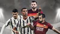 Liga Italia: Juventus Vs AS Roma. (Bola.com/Dody Iryawan)