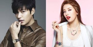 Lee Min Ho dan Suzy pertama kali berpacaran pada 2015 silam. Pasangan ini sempat mengalami putus nyambung dan kisah asmara mereka benar-benar pupus paada November 2017 lalu. (Foto: Allkpop.com)