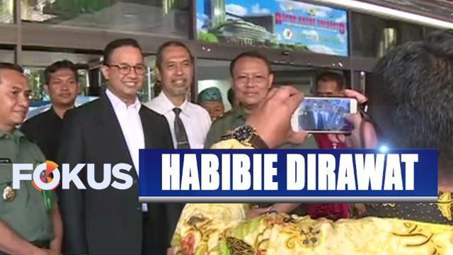 Wakil Presiden Jusuf Kalla dan Wapres terpilih Ma'ruf Amin juga terlihat datang ke RSPAD.