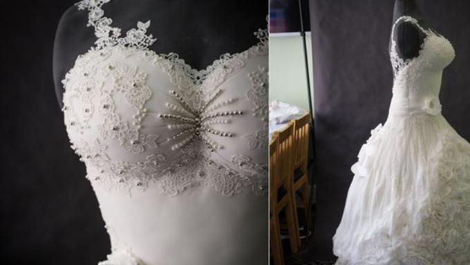 Meski Cantik Gaun Pengantin Ini Tak Ada Yang Mau Pakai Kenapa