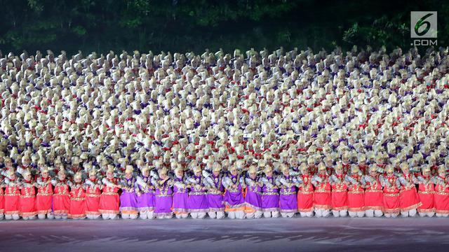 Tari Saman Di Pembukaan Asian Games