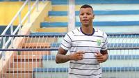 Pemain asing Persela Lamongan, Gabriel do Carmo. (Bola.com/Aditya Wany)