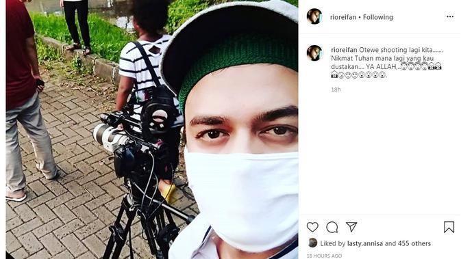 Rio Reifan dan Istri Saling Hapus Foto di Media Sosial, Sudah Pisah?