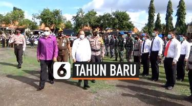 Gubernur Bali melarang semua bentuk kegiatan pesta perayaan malam tahun baru sebagai upaya mencegah klaster baru penularan Covid-19.