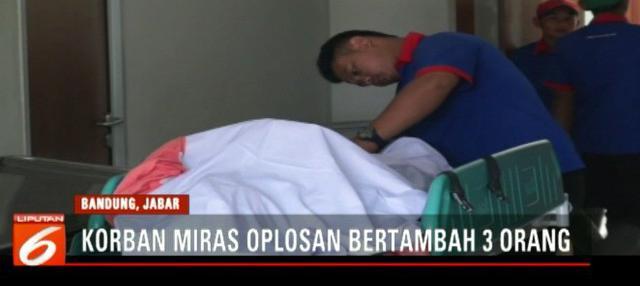 Total korban tewas di Cicalengka menjadi 34 orang.