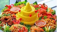 Nasi Kuning khas Indonesia. (dok.Instagram @nyamfoodies/https://www.instagram.com/p/BoA7NUalBAf/Henry