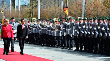 Jokowi di Jerman
