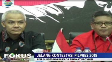 Sekjen PDIP, menyatakan kemenangan ini PDIP mampu memenangkan Pilpres 2019.