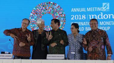 Bergandeng Tangan, Pertemuan IMF-Bank Dunia Resmi Ditutup