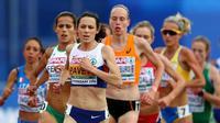 Pelatih putri asal Inggris, Joe Pavey yang sudah berusia 42 tahun bakal tampil di Olimpiade Rio de Janeiro, Brasil. (BBC)