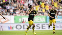 Shinji Kagawa menjadi pemain Jepang yang paling banyak mencetak gol di Bundesliga. (doc. Borussia Dortmund)