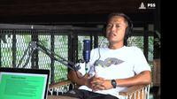Anang Hadi saat berbincang dalam podcast PSS Sleman. (YouTube PSS Sleman)