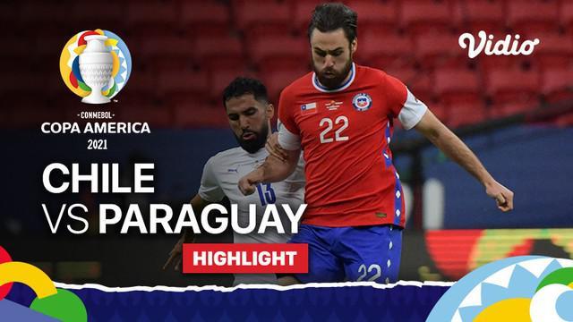 Berita video highlights Grup A Copa America 2021, Timnas Chile kalah 0-2 dari Paraguay, Jumat (25/6/2021) pagi hari WIB.