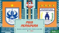 PSIS Semarang vs Persipura Jayapura, Shopee Liga 1 2019 (Bola.com/Dody Iryawan-MG)