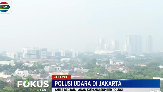 Anies berencana akan melakukan uji emisi terhadap kendaraan berat yang masuk ke Jakarta.