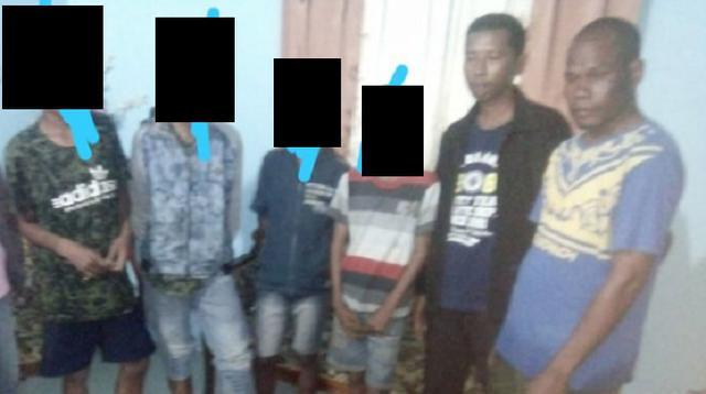 Empat bocah di Kupang, NTT, nekat mencuri uang milik Gereja Pohonitas, Kelurahan Manulai II, Kecamatan Alak, Kota Kupang. (Liputan6.com/ Ola Keda)
