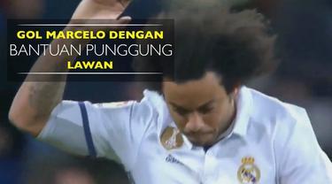 Berita video gol Marcelo dengan bantuang punggung lawan, Facundo Roncaglia, saat Real Madrid kalah dari Celta Vigo di Copa del Rey.