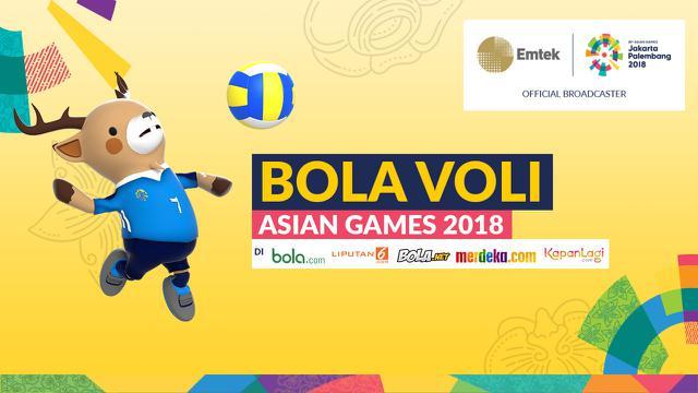 Ini Susunan Timnas Voli Indonesia Untuk Asian Games 2018 Asian
