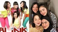 Momen Reuni Girlband Blink yang Tetap Kompak. (Sumber: TikTok/febrastanty dan Instagram.com/agthpricilla)