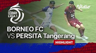 Berita video highlights laga pekan keenam BRI Liga 1 2021/2022 antara Borneo FC melawan Persita Tangerang yang berakhir dengan skor 2-2, Sabtu (2/10/2021) sore hari WIB.