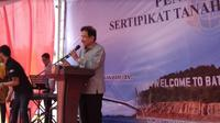 Menteri ATR/Kepala BPN Sofyan Djalil (Foto:Liputan6.com/Ajang Nurdin)