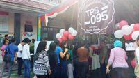 Suasana pemungutan suara Pilkada DKI 2017 putaran kedua di Rutan Pondok Bambu. (Liputan6.com/Nanda Perdana Putra)