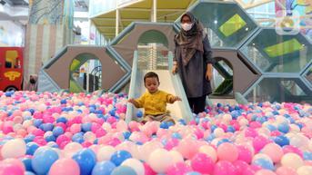 FOTO: Tempat Permainan Anak di Mal Sudah Mulai Beroperasi