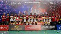 26 Atlet Muda Lolos ke Final Audisi Beasiswa Bulu Tangkis 2019 (Defri/Liputan6.com)