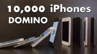 Unik! 10.000 unit iPhone 5 dijadikan sebagai permainan domino, penasaran seperti apa permainannya?