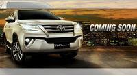 """""""Coming Soon,"""" demikian tulis Toyota di samping tampang depan all new Fortuner."""