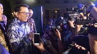 Kepala Staf Kepresidenan Jend. TNI (Purn.) Dr. Moeldoko di acara penukaran dolar AS ke rupiah di Hotel Majapahit  Surabaya (20/9/2018). (Dok KSP)