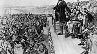 Pidato Gettysburg Lincoln (@DrChrisKeller/Twitter).