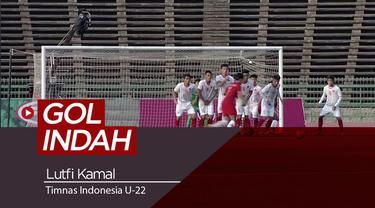 Berita video gol indah yang diciptakan oleh Lutfi Kamal saat Timnas Indonesia U-22 menghadapi Vietnam di babak semifinal Piala AFF U-22 2019, Minggu (24/2/2019).