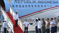 Presiden Jokowi menyambangi Lombok, Nusa Tenggara Barat (foto: Biro Pers Setpres)