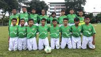 MILO Football Camp diikuti 16 pemain terbaik hasil seleksi MILO Football Championship 2019. (Ist)