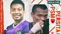 Shopee Liga 1 - Persita Tangerang Vs PSM Makassar - Duel Pemain (Bola.com/Adreanus Titus)