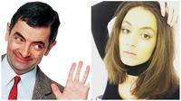 Lily Atkinson dan Rowan Atkinson