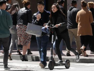 Terkait Keselamatan Pengguna, San Fransisco Akan Hentikan Operasi Skuter Bermotor