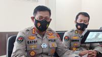 Kabid Humas Polda Jatim Kombes Pol Gatot Repli Handoko. (Dian Kurniawan/Liputan6.com)