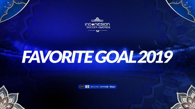 Berita video Favorite Goal Indonesian Soccer Awards 2019 yang diraih striker Marko Simic.