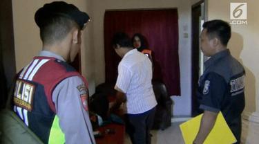 18 pasangan bukan suami istri terjaring razia penyakit masyarakat di Surabaya.